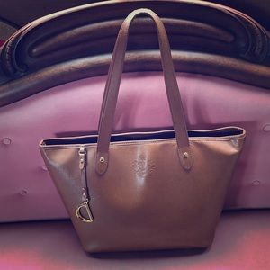 Ralph Lauren Leather Tote Bag